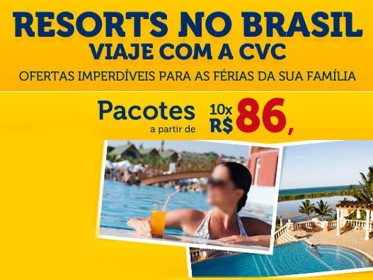 resorts cvc 2014 promocionais