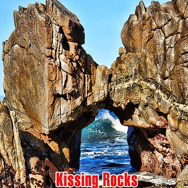 kissing rocks california pacific grove