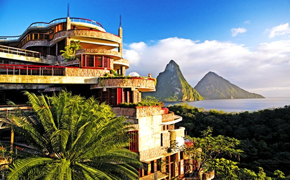 Jade Mountain resort caribe
