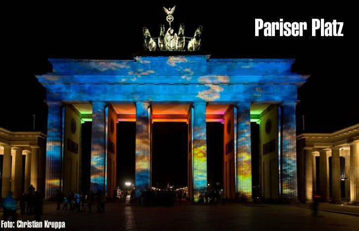 festival de luzes berlim, festival of lights berlin