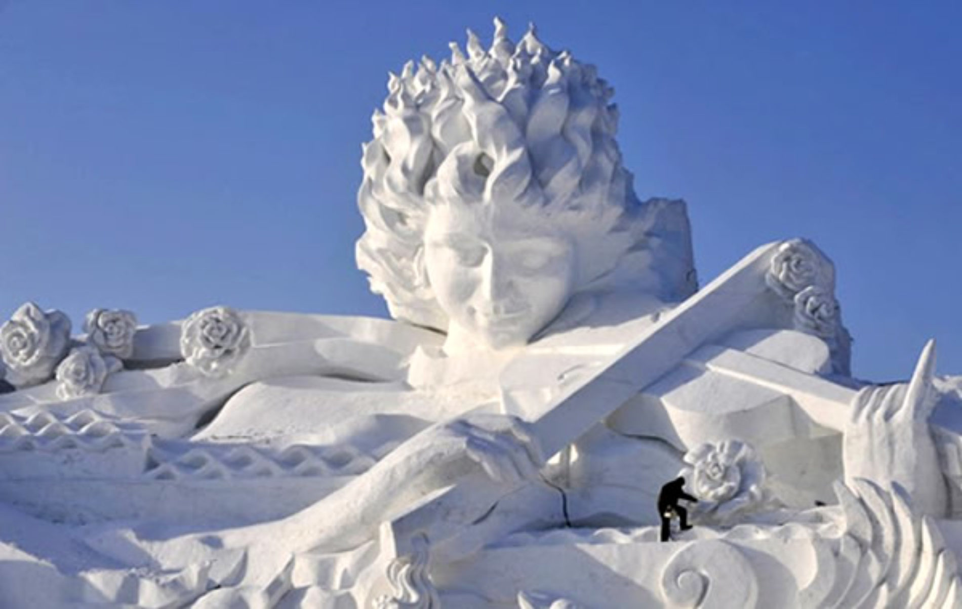 Festival da Neve e do Gelo em Harbin na China