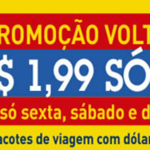 Pacotes CVC internacionais com o menor dólar do mercado