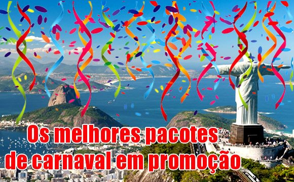top pacotes carnaval 2018