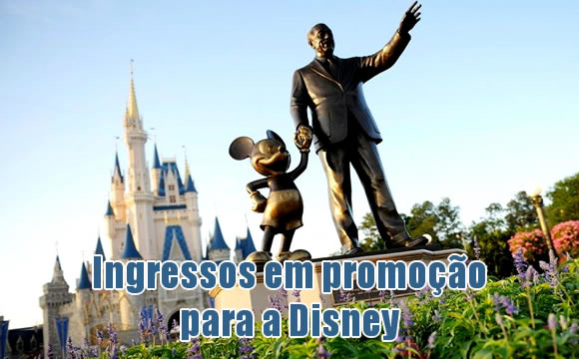 Ingressos promocionais Walt Disney World Resort Orlando