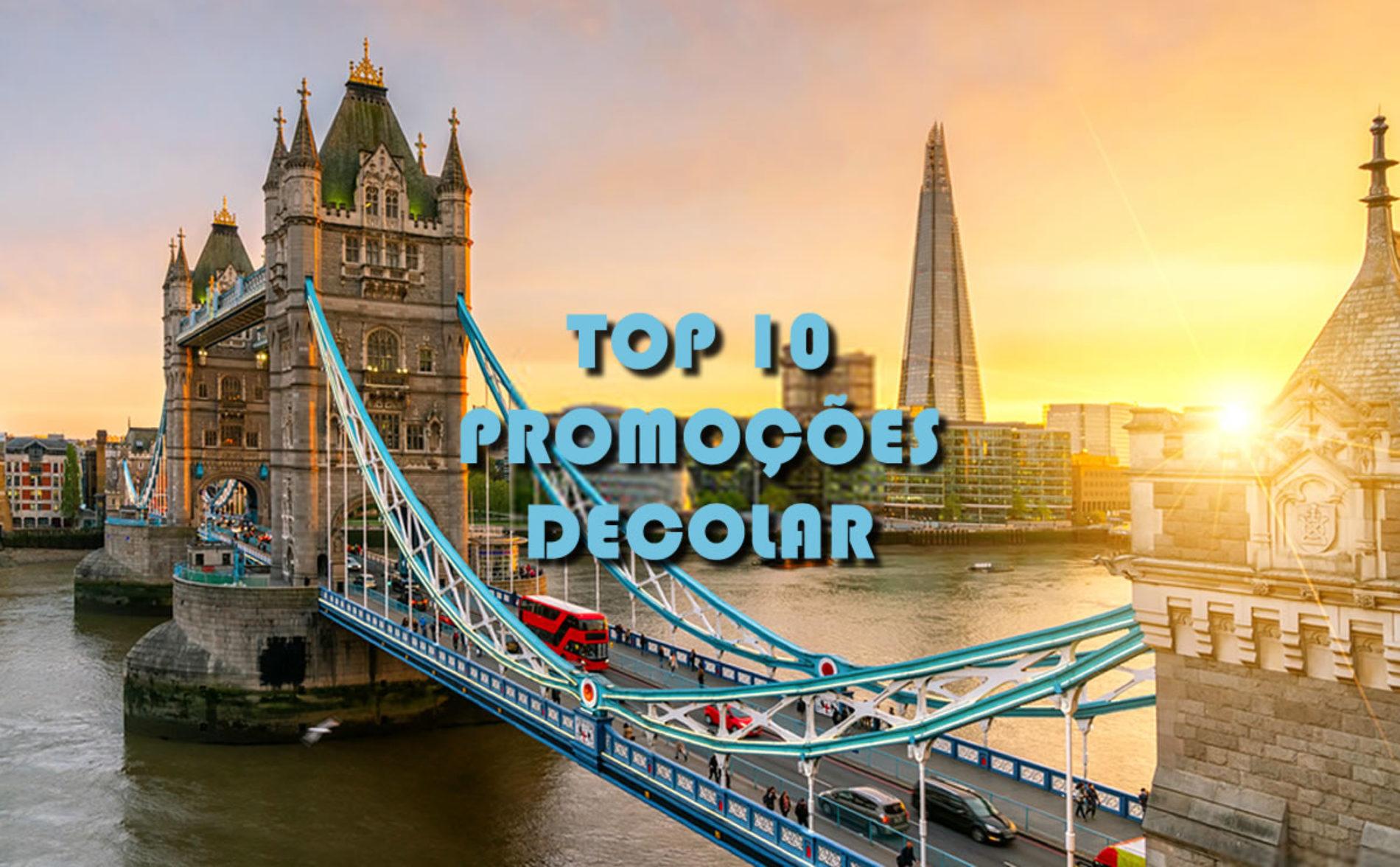 TOP 10 pacotes Decolar para viagens em 2020