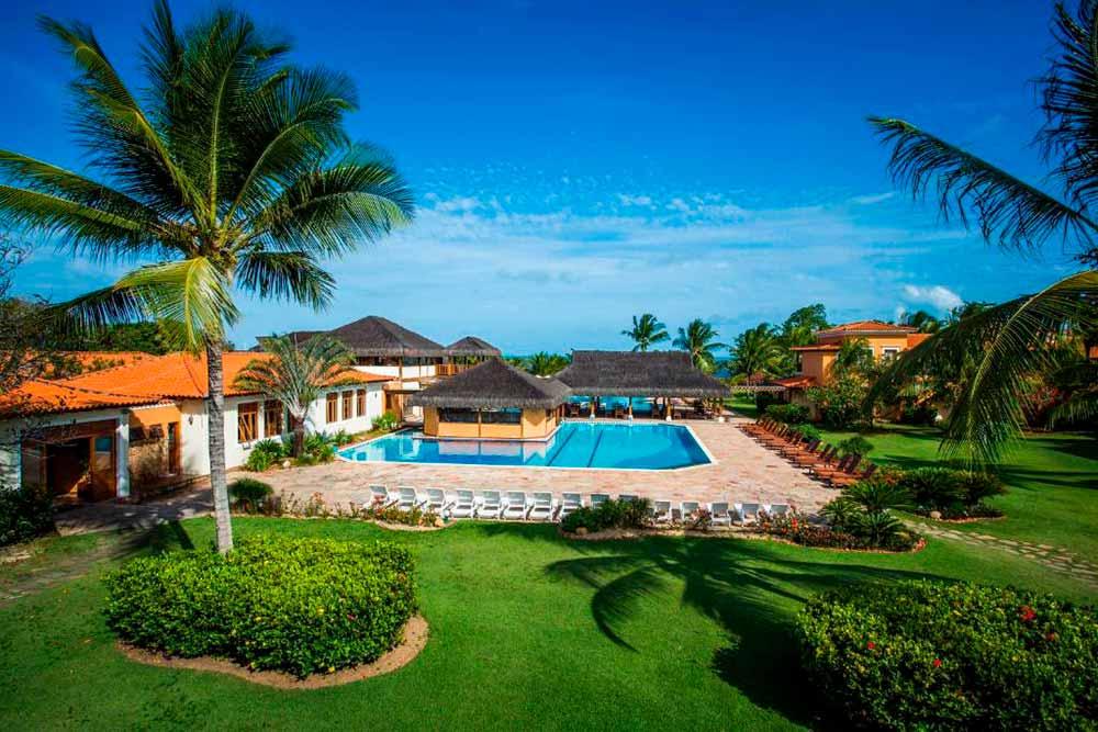 Vila Angatu Eco Resort & Spa em Santa Cruz de Cabrália